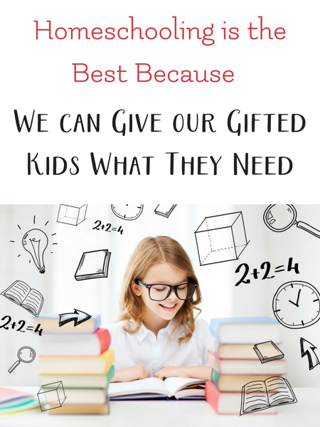 homeschool is best for gifted kids