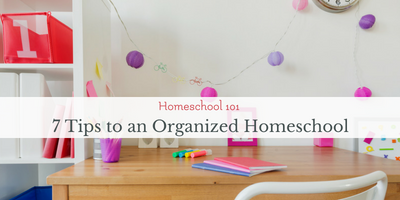 how to organize homeschool work