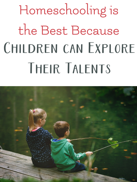 homeschool allows talents to blossom