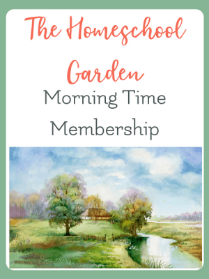 christian based morning time plans for busy homeschool moms
