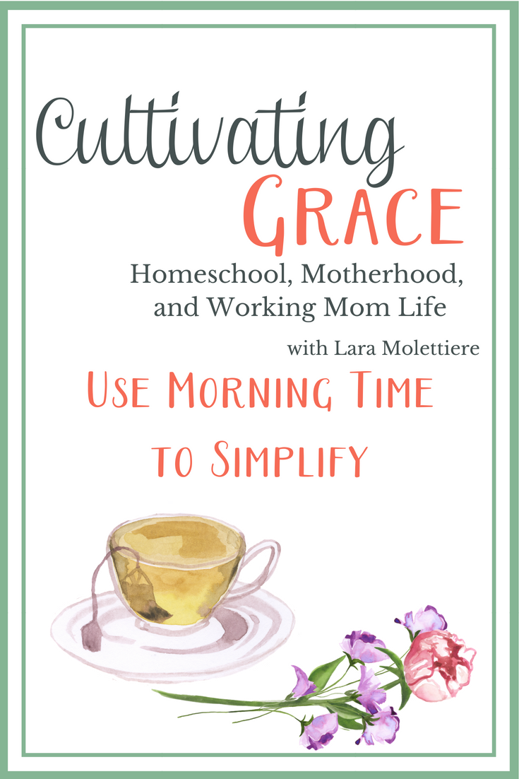 Homeschool morning time is not an unattainable ideal. In fact, it can smooth out those hectic days and simplify your homeschool! #everydaygraces #homeschool