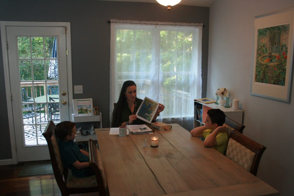 how to simplify homeschool with morning time
