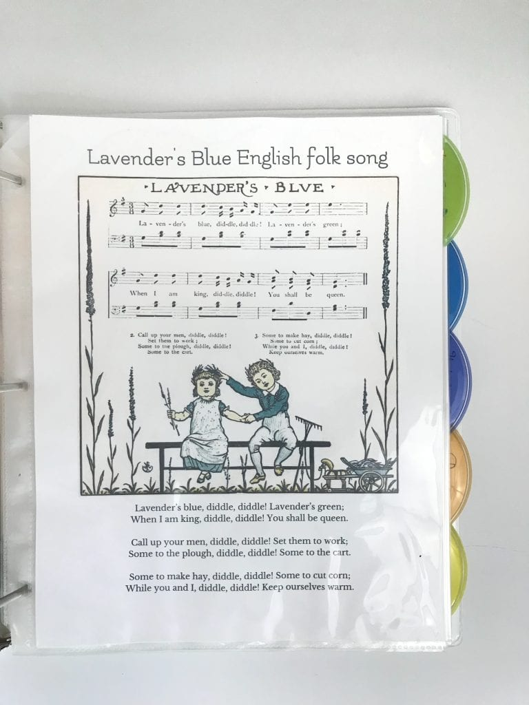 folk songs hymns