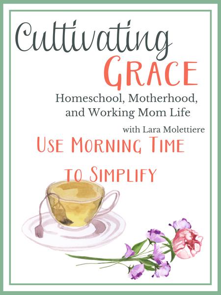 christian homeschool morning time plans