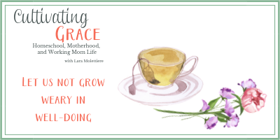 Cultivating Grace: Let Us Not Grow Weary in Well-doing