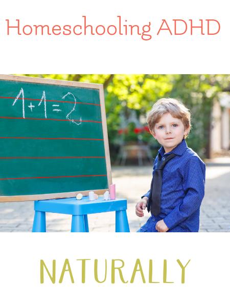 homeschool ADHD naturally