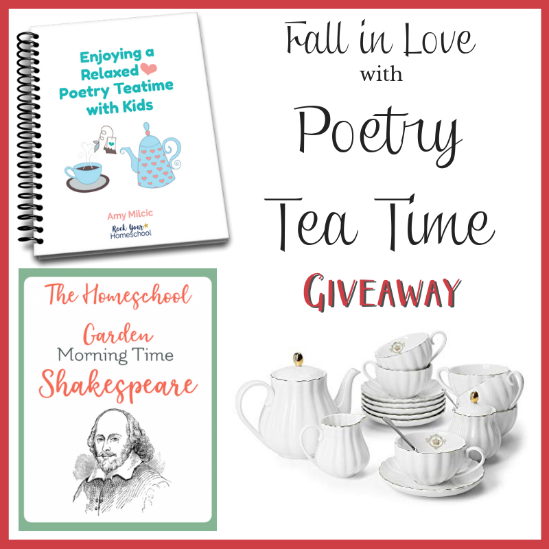 poetry tea time giveaway
