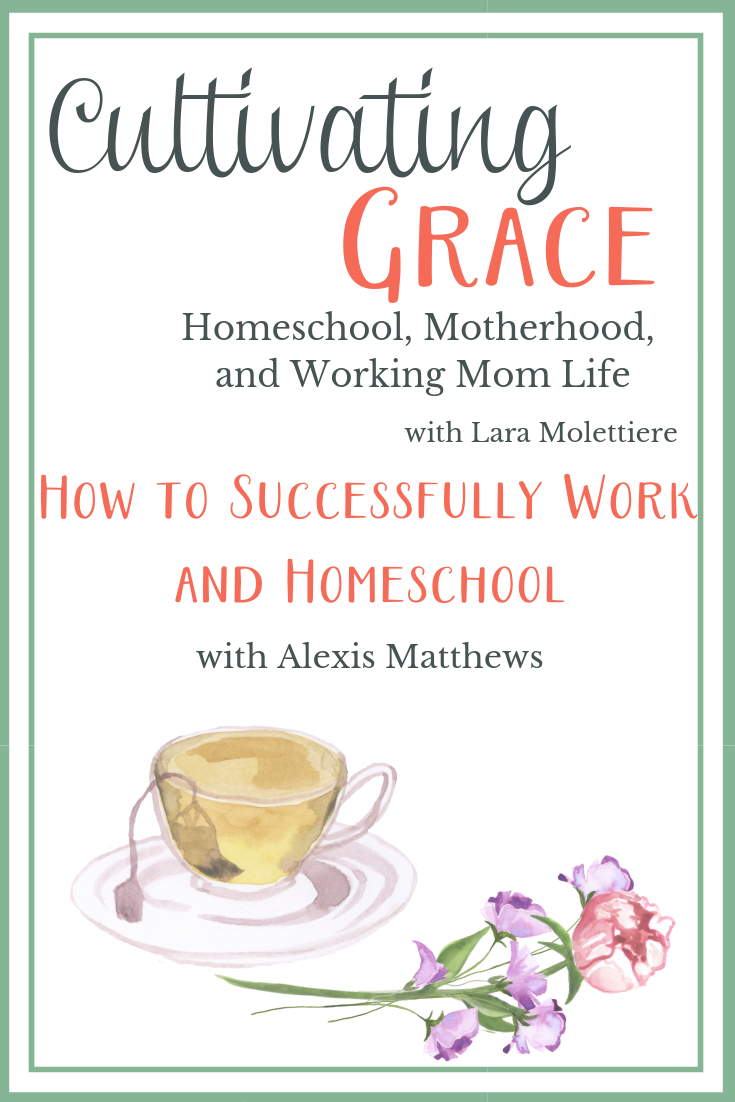 successfully work and homeschool