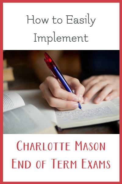 charlotte mason exams