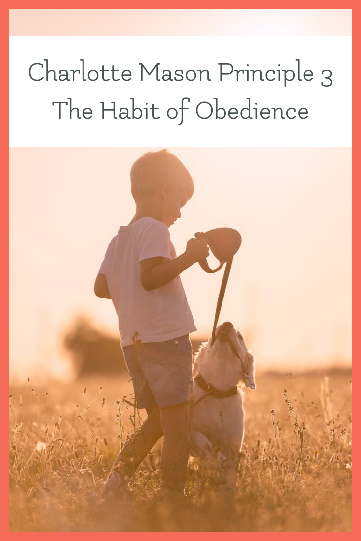 charlotte mason authority and obedience