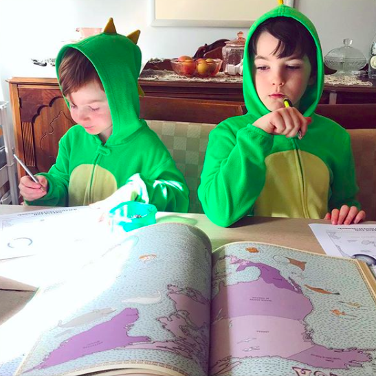 morning time homeschool geography