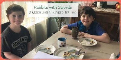 Rabbits with Swords: A Green Ember Tea Time